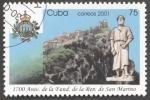 Stamps Cuba -  1700 Aniversario de la fundacion de la republica de San Marino