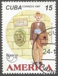 Sellos de America - Cuba -  América Upaep, El cartero