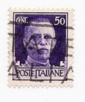 Stamps Italy -  Emanuele III