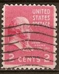 Sellos del Mundo : America : Estados_Unidos : Presidente John Adams.