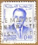 Sellos de Africa - Marruecos -  REY DE MARRUECOS