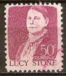 Sellos del Mundo : America : Estados_Unidos : Estadounidenses prominentes.Lucy Stone.