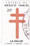 Stamps Mexico -  Loteria de Mexico 1998-99 -la salud