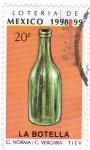 Stamps : America : Mexico :  Loteria de Mexico 1998-99 -LA BOTELLA