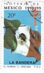Stamps Mexico -  Loteria de Mexico 1998-99 -LA BANDERA