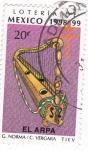 Stamps Mexico -  Loteria de Mexico 1998-99 -EL ARPA
