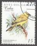 Sellos de America - Cuba -  Aves del Caribe