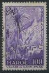 Sellos de Africa - Marruecos -  SC53 - Pueblo en el Anti-Atlas