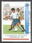Sellos del Mundo : America : Cuba : Copa mundial de Futbol Francia 98