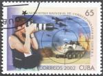 Stamps Cuba -  Encuentro mundial de corresponsales de guerra