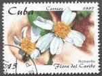 Stamps Cuba -  Flora del Caribe