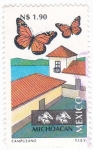Stamps Mexico -  Michoacan