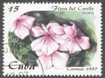 Sellos de America - Cuba -  Flora del Caribe