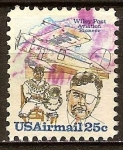 Sellos del Mundo : America : Estados_Unidos :  Wiley Post pionero de la aviación.