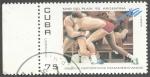 Stamps Cuba -  XII juegos deportivos panamericanos Mar del Plata 95 Argentina