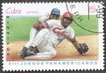 Sellos del Mundo : America : Cuba : XIII juegos panamericanos Winnipeg 99