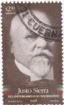 Sellos de America - México -  150 aniversario nacimiento Justo Sierra