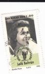 Stamps Mexico -  idolos populares de la radio-Lola Beltran