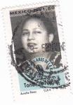 Stamps Mexico -  idolos populares de la radio-Tona