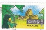 Stamps : America : Mexico :  Yucatan