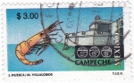 Stamps Mexico -  Campeche