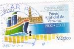 Sellos de America - México -  puerto articicial de Veracruz 1902-2002