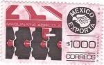 Stamps Mexico -  Mexico exporta-maquinaria agricola