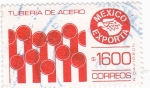 Sellos de America - México -  tuberia de acero