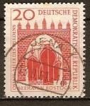 Sellos de Europa - Alemania -   Puerto de Rostock.