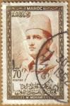 Stamps Morocco -  S.M. MOHAMED V