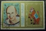 Stamps : Asia : United_Arab_Emirates :  astronautas del apollo