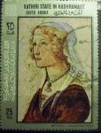 Stamps : Asia : Saudi_Arabia :  Boticelli - Giovanna degli albizzi