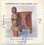 Sellos de America - El Salvador -  Tazumai