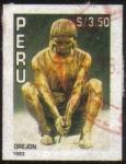 Stamps Peru -  OREJON