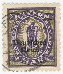 Stamps Germany -  Madonna and Child
