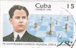 Sellos de America - Cuba -  75 aniversario campeon mundial Capablanca