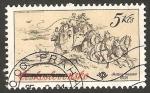 Stamps Czechoslovakia -  2426 - Exposición en el Museo Postal de medios de transporte