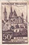 Stamps France -  Caen-Abadia Aux Hommes