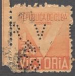 Sellos de America - Cuba -  Victoria