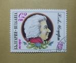 Stamps Bulgaria -  Wolfgang Amadeus Mozart. Compositor