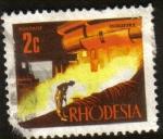 Stamps Africa - Zimbabwe -  Rhodesia - Industria