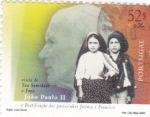 Sellos de Europa - Portugal -  Juan Pablo II