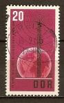 Sellos de Europa - Alemania -  20 años de la radio Democrática Alemana.DDR