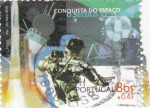 Sellos de Europa - Portugal -  conquista del espacio siglo XX