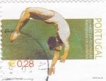 Sellos de Europa - Portugal -  50 años de la federacion portuguesa de gimnastica