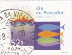 Sellos de Europa - Portugal -  dia del pescador