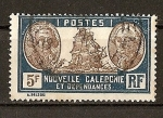 Stamps Europe - France -  Nueva Caledonia - Bougainville y Jean François de Galaup.