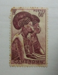 Stamps Africa - Cameroon -  Mujer Tikar.