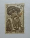 Sellos de Africa - Camerún -  Mujer Tikar.