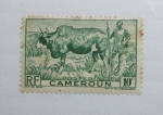 Sellos del Mundo : Africa : Camerún : Ganadero y Zebu.